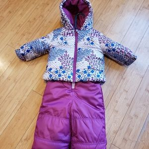 Joe fresh snowsuit 6-12m